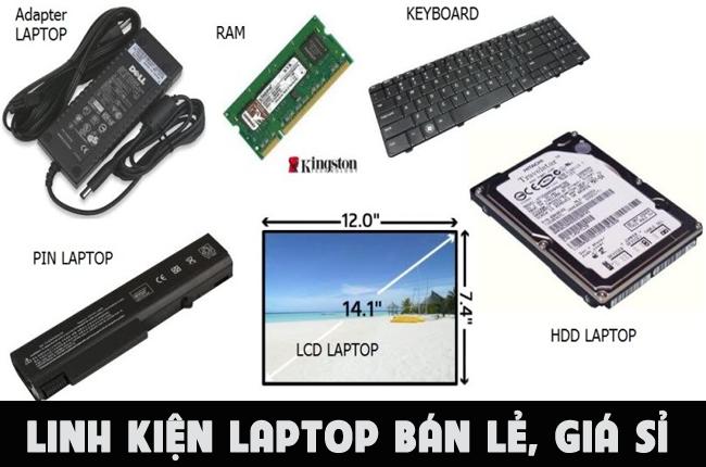 Sửa laptop Quảng Ngãi cung cấp linh kiện bán lẻ với giá sỉ.